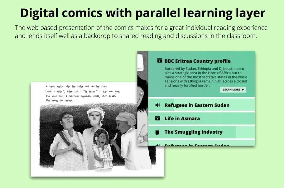 Comics Learning Layer