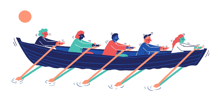 Ideo Team Rowboat