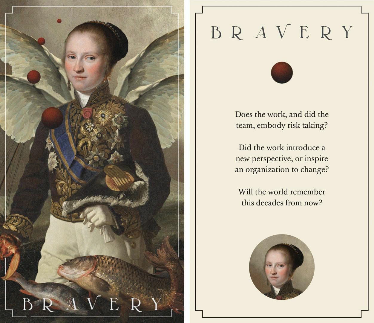 Lifeline Critique Cards Bravery