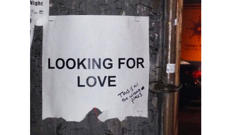 Ad Looking For Love