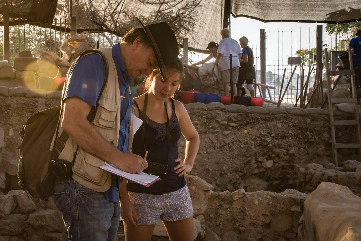 Mt Zion Archeology Heather Ross 2