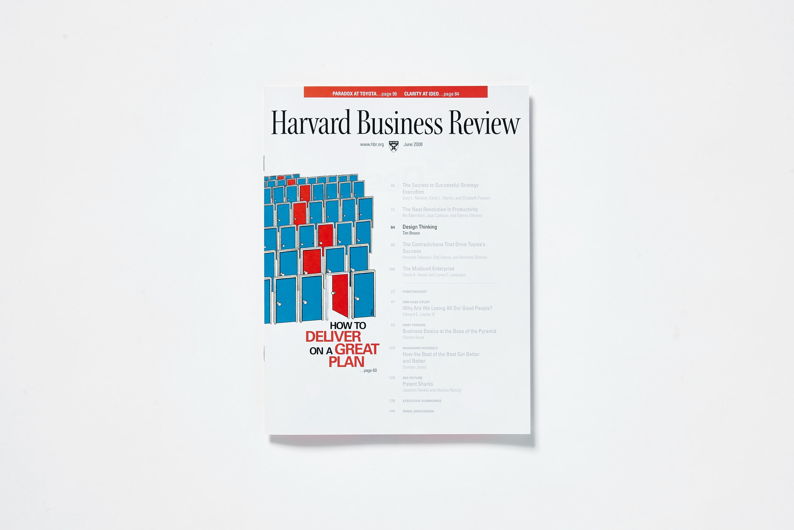 Business Review   Design Thinking In Harvard Business Review Ideo Com