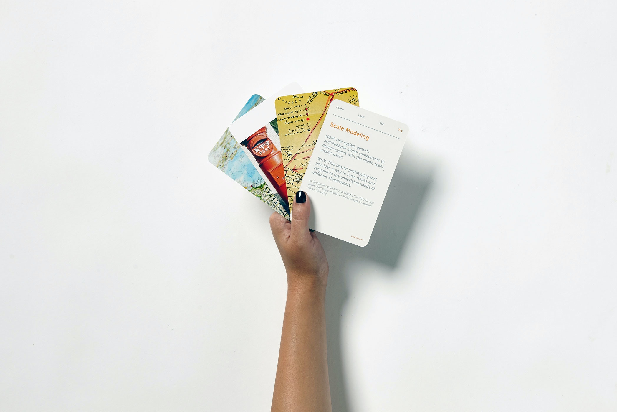 Ideo Books Method Cards In Hand